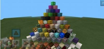 Текстура Plastic Texture Pack для Minecraft PE 0.9.5