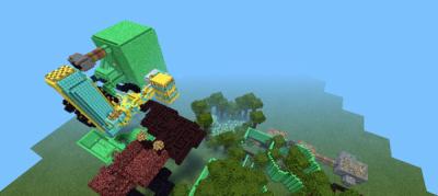 Карта The magic jungle of emeralds для Minecraft PE