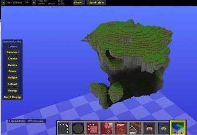 Программа Генератор карт для Minecraft PE 0.9.5