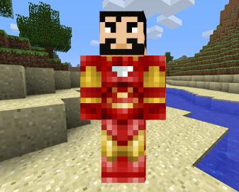 Скин Железного Человека 0.9.5
