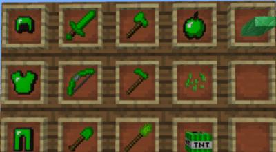 Скрипт на изумрудные вещи для Minecraft PE 0.9.5