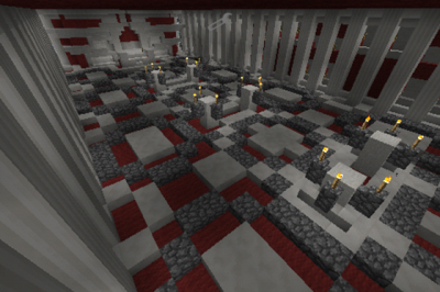 Карта The Red Palace для Minecraft