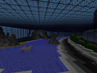 Карта Underwater City для Minecraft