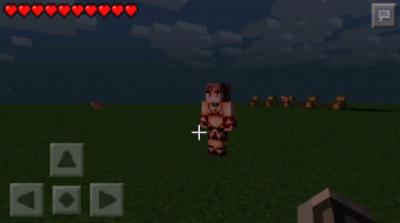 Мод MOB TALKER GIRLS для Minecraft PE 0.9.5