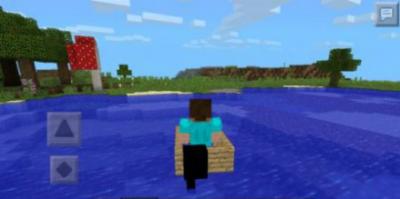 Мод Boat  для Minecraft PE 0.9.5