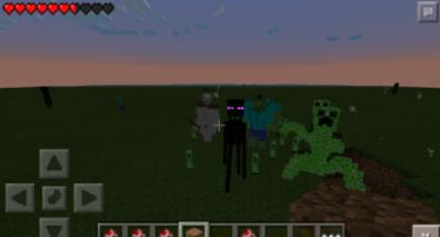 Мод Mutant Creatures V1.3 для Minecraft PE 0.9.5