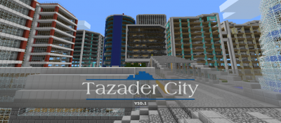 Карта NXUS Modern City для Minecraft PE