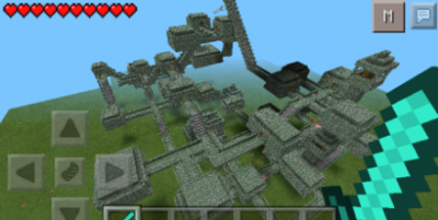 Карта MEGA HARDCORE для Minecraft PE