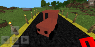 Мод на машину для Minecraft PE 0.9.5