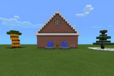 Карта Brick House для Minecraft PE