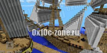 КАРТА PIRATS VS BOY AND GERL для Minecraft PE