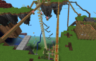 Карта Large Size Amusement Park для Minecraft PE