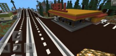 Карта Modern city with army base 0.4.1 для Minecraft PE