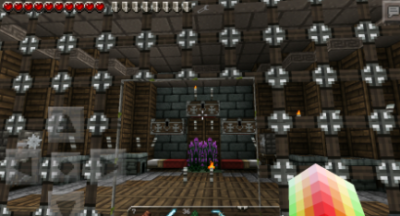 Красивая текстура для Minecraft PE 0.9.x Dokucraft