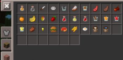 Мод Much Food Mod для Minecraft PE 0.9.5