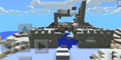 Карта castle для minecaft PE 0.9.5