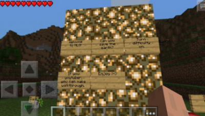 Карта для Minecraft PE 0.9.5 НЛО