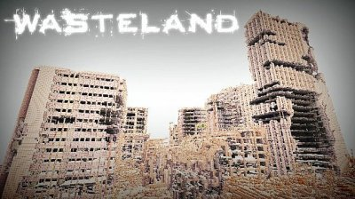 Карта Wastelands survival для Minecraft PE 0.9.x