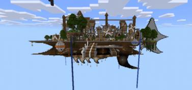 Карта «Облачная турбина» для Minecraft PE 0.10.4