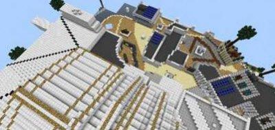 Карта Plaza для Minecraft Pocket Edition