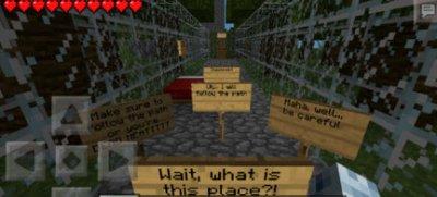 Карта ESCAPE FROM THE JUNGLE для Minecraft PE
