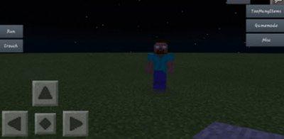 Мод Extreme Herobrine 3 для Minecraft PE 0.10.x