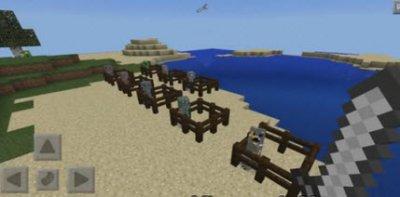 Мод Ore Creepers для Minecraft PE 0.10.x