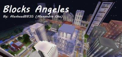Карта Blocks Angeles для Minecraft Pocket Edition