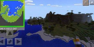 Мод Smooth Minimap для Minecraft PE 0.10.x