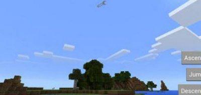 Мод «3 волшебных кнопки» для Minecraft PE 0.10.x