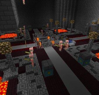 Карта Запутанный отель для Minecraft PE