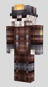 Скин скелета из шахты для Minecraft PE [0.10.5]
