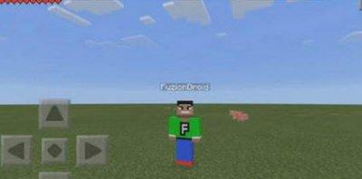 Мод F5 на селфи для Minecraft PE 0.10.x