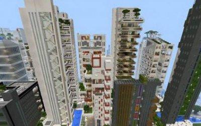 Карта Modern Architecture serias 16 для Minecraft PE 0.10.x