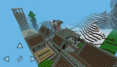 Карта The knight's adventure для Minecraft PE