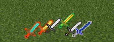 Мод Better Swords для Minecraft PE 0.10.x