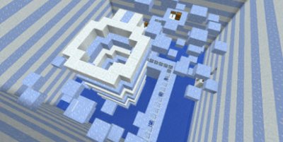 Карта Various Type of Ice [ICE PARKOUR] для MCPE