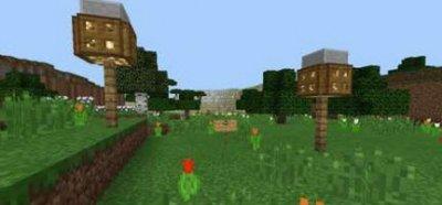 Карта RPG:Pale world для Minecraft PE 0.10.x