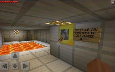 Карта The Quest for Cake для Minecraft PE 0.10.x