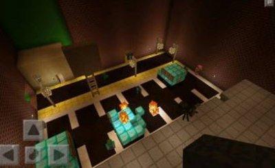 Карта Zombie World для Minecraft PE