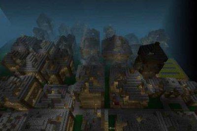 Карта Dark Realm для Minecraft PE 0.10.5