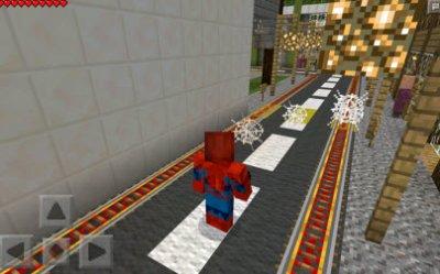 Мод Spider-Man для Minecraft PE 0.10.5