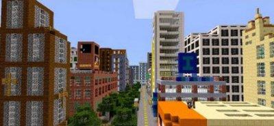 Карта NewBloxten City для Minecraft PE