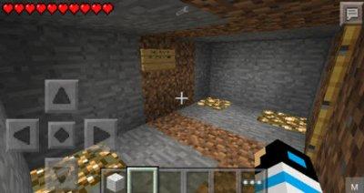 Карта Golden на прохождение для Minecraft 0.10.5