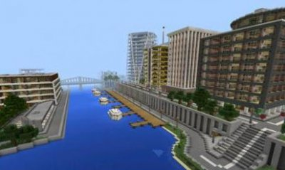 Карта Tazader city [2015] для Minecraft Pocket Edition
