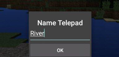 Мод Telepads для Minecraft PE 0.10.x