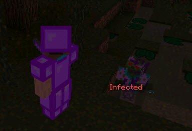 Мод Infected для Minecraft PE 0.10.5