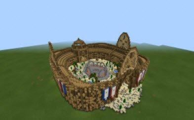 Карта Roman Gladiators Arena для Minecraft PE 0.11.0