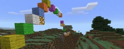 Новая карта Wool Parkour для Minecraft PE