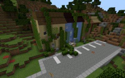 Карта The Walking Dead для Minecraft PE [на прохождение]